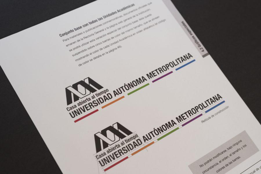 UAM, Universidad Autónoma Metropolitana. Diseño de identidad institucional.