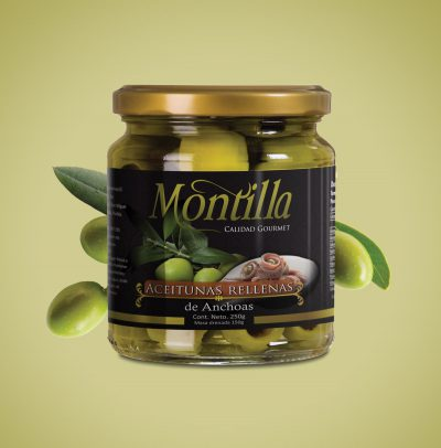 Montilla. Diseño de etiqueta