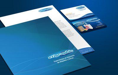 Etigraphic. Diseño de identidad corporativa.. Diseño de identidad corporativa. Soto Comunicación
