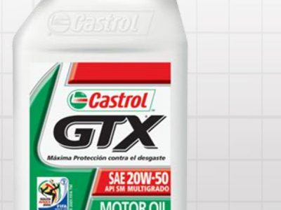 Castrol GTX. Presentación animada para lanzamiento de producto