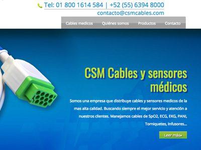 CSM. Diseño y programación de sitio web.