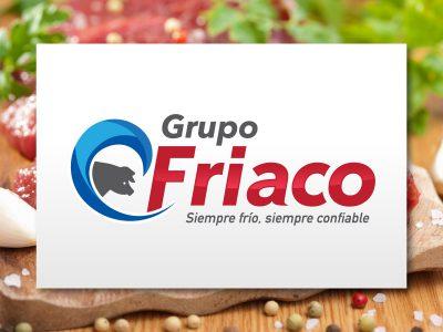 Grupo Friaco. Diseño de logotipo.