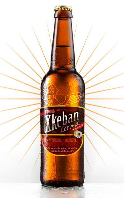 Xkeban. Diseño de etiqueta