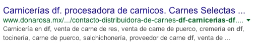 Carnes selectas Doña Rosa