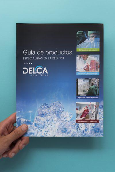 Delca Científica. Guía de productos.