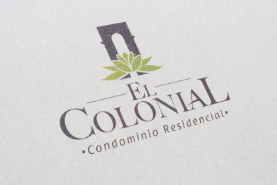 El Colonial. Diseño de logotipo.