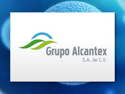 Grupo Alcantex. Diseño de logotipo.. Diseño de identidad corporativa. Soto Comunicación