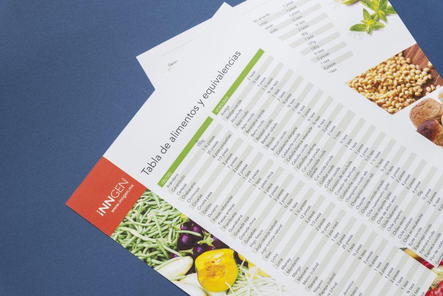 InnGen. Diseño de formatos y reportes.