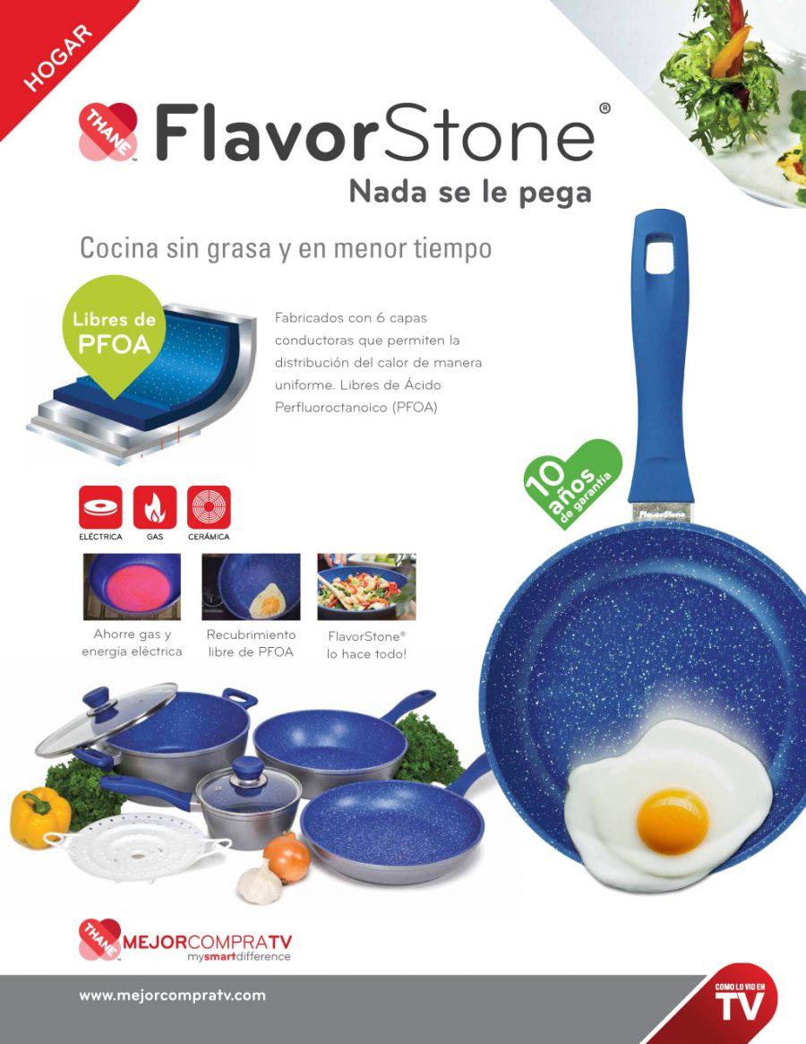 FlavorStone. Diseño de fichas técnicas.