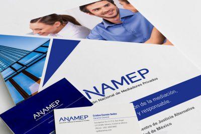 Anamep. Diseño de identidad institucional.