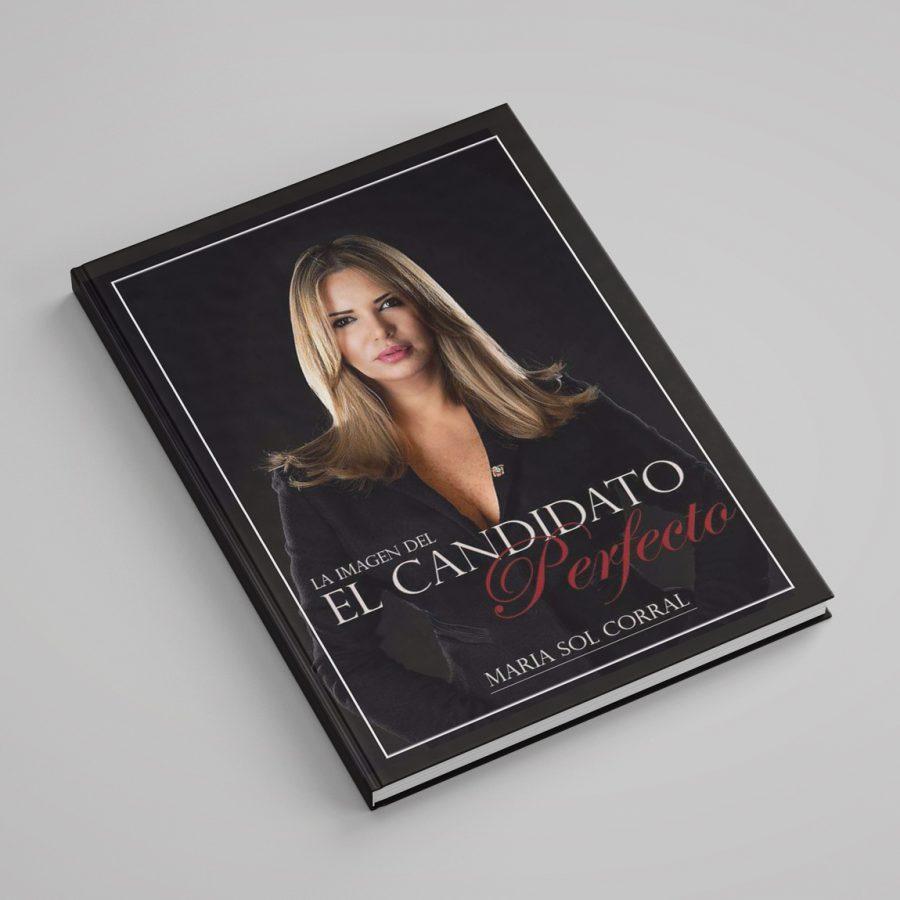 El candidato perfecto. Diseño de libro.