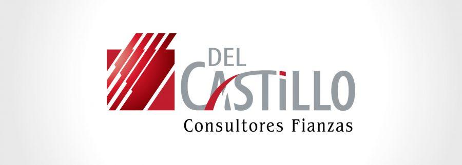 Del Castillo, Consultores en Fianzas. Diseño de identidad corporativa.