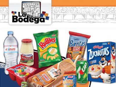 La Bodega. Diseño de sitio web.