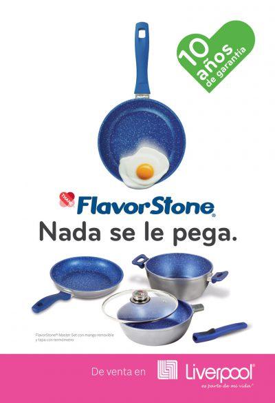 FlavorStone. Diseño de anuncios publicitarios.