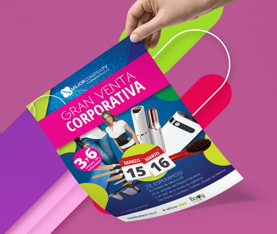 MejorCompraTV. Publicidad para venta corporativa.