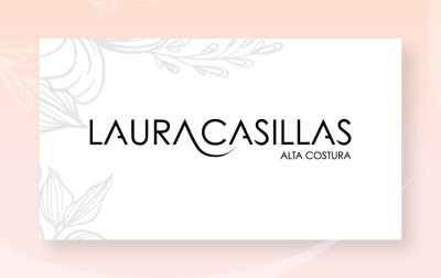 Laura Casillas. Diseño de logotipo.