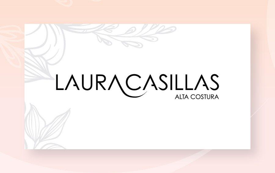 Laura Casillas. Diseño de logotipo.