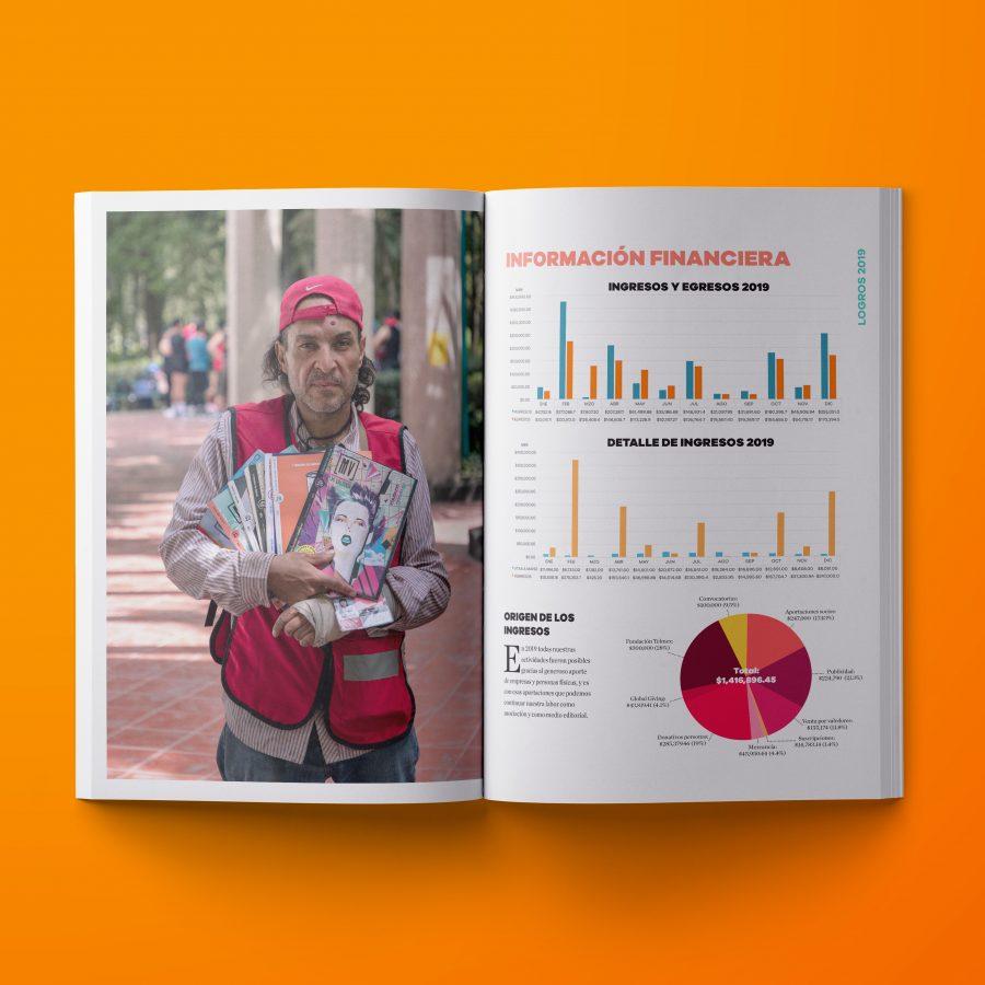 Diseño de reporte anual para Mi Valedor